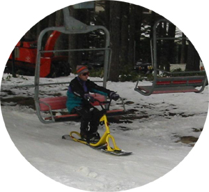 Snowscootride